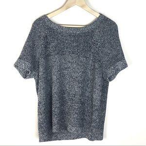 Lucky Brand | Short sleeve sweater XL